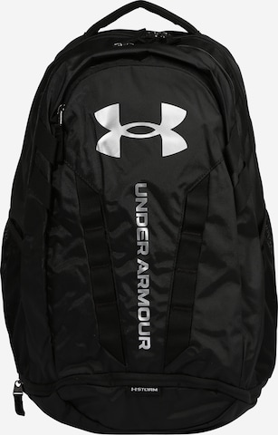 UNDER ARMOUR Sports Backpack 'Hustle 5.0' in Black