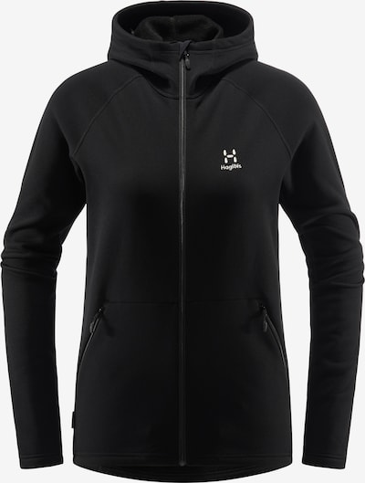 Haglöfs Functionele fleece jas 'Bungy' in de kleur Zwart, Productweergave