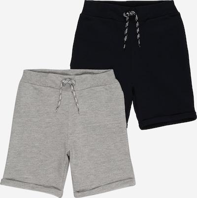 NAME IT Shorts 'DIDRIK' in saphir / graumeliert, Produktansicht
