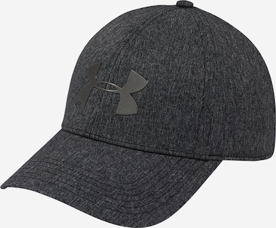 UNDER ARMOUR Cap 'UA Adj Armourvent Cool Hat' in anthrazit / schwarzmeliert, Produktansicht
