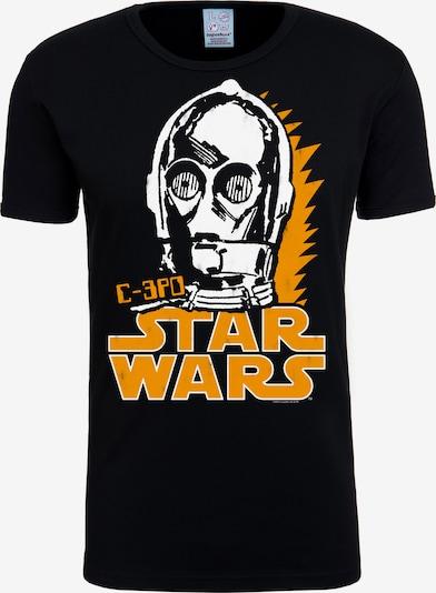LOGOSHIRT T-Shirt 'C-3PO' in mischfarben / schwarz, Produktansicht