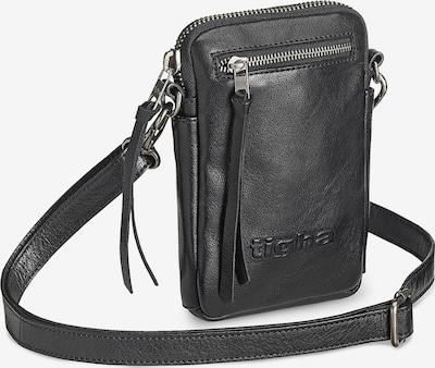 tigha Umhängetasche  ' Amado ' in schwarz, Produktansicht