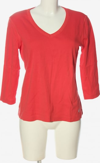 One Touch Longsleeve in XL in rot, Produktansicht
