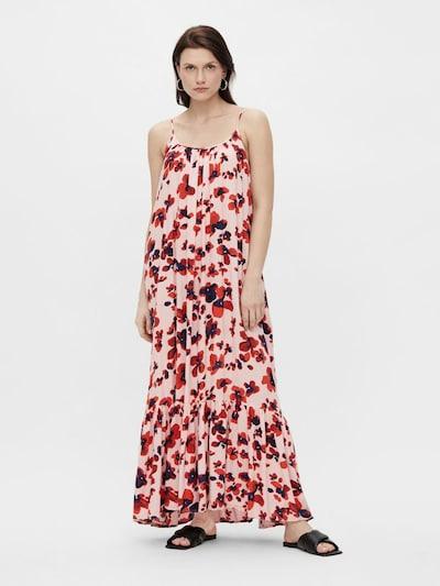 Y.A.S Kleid 'Bamelia' in marine / rosa / karminrot, Modelansicht