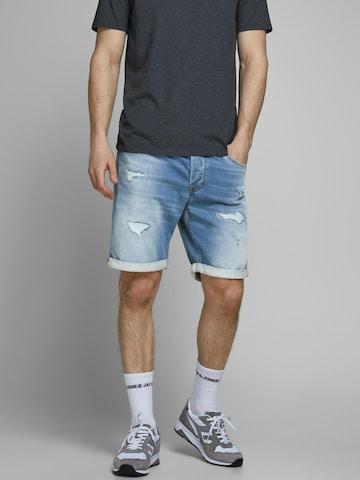 JACK & JONES Jeans 'JJIRICK' i blå