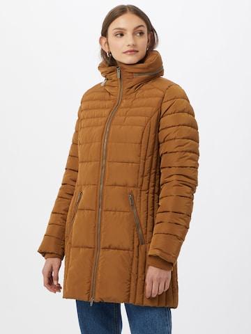 Soyaconcept Χειμερινό παλτό 'Nina 1' σε καφέ