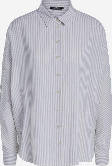 SET Bluse in lila / schwarz / weiß, Produktansicht