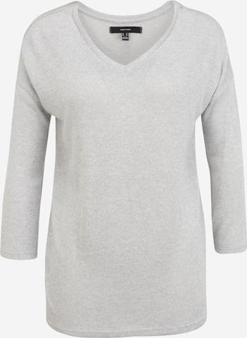 Vero Moda Tall Shirt 'BRIANNA' in Grey