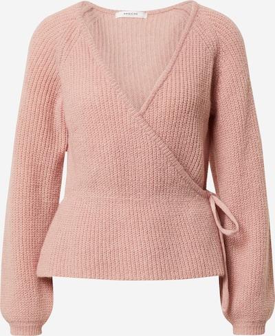 MOSS COPENHAGEN Pull-over 'Lois Wrap' en rose, Vue avec produit