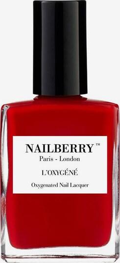 Nailberry Nagellack 'L'Oxygéné Oxygenated' in rot, Produktansicht