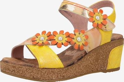 Laura Vita Sandalen in gelb / orange, Produktansicht