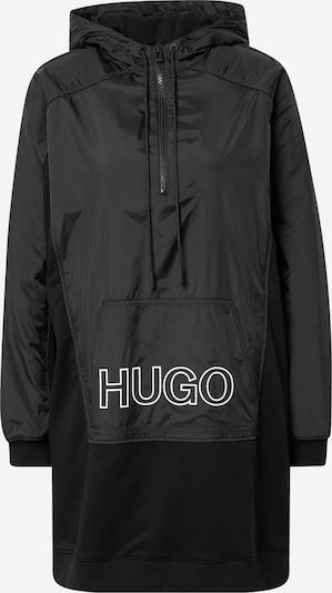 Megztinis be užsegimo iš HUGO , spalva - juoda / balta, Prekių apžvalga