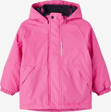 NAME IT Toiminnallinen takki 'Snow03' värissä vaaleanpunainen