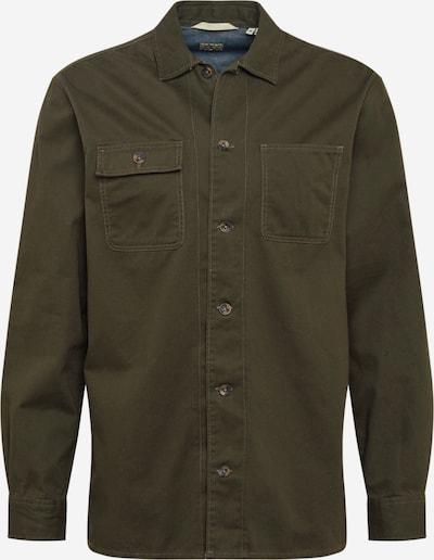 JACK & JONES Hemd 'RUSSEL' in dunkelgrün, Produktansicht