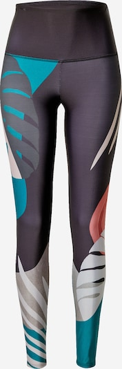 Onzie Sports trousers in turquoise / dark blue / silver grey / light pink / white, Item view