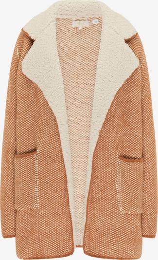 usha FESTIVAL Pletený kabát - farba ťavej srsti / svetlohnedá, Produkt