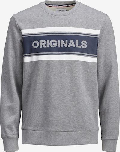 Jack & Jones Junior Sweatshirt in hellgrau, Produktansicht