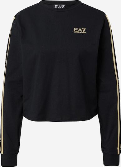 EA7 Emporio Armani Shirt in gold / schwarz, Produktansicht