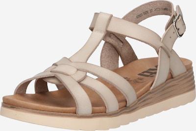 Sandale cu baretă Xti pe alb, Vizualizare produs