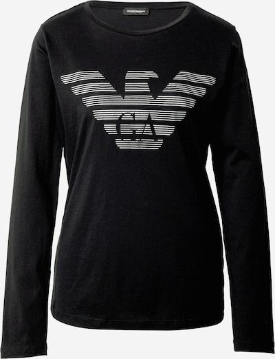 Emporio Armani Camiseta para dormir 'VISIBILITY' en negro / blanco, Vista del producto