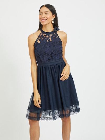 VILA Cocktailkleid 'Zinna' in navy, Modelansicht