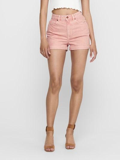 ONLY Jeansshorts in rosa, Modelansicht