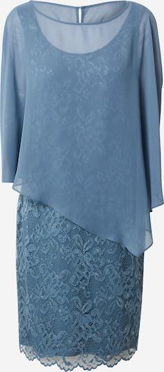 Vera Mont Robe de cocktail en bleu fumé, Vue avec produit