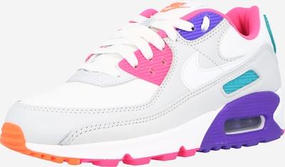 Nike Sportswear Niske tenisice 'Air Max 90' u plava / tirkiz / svijetlosiva / roza / bijela, Pregled proizvoda