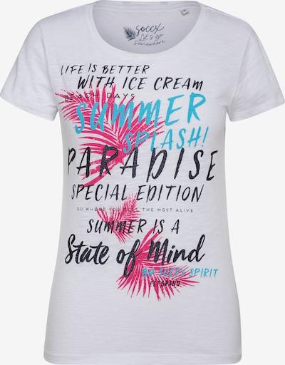 Soccx T-Shirt in weiß, Produktansicht