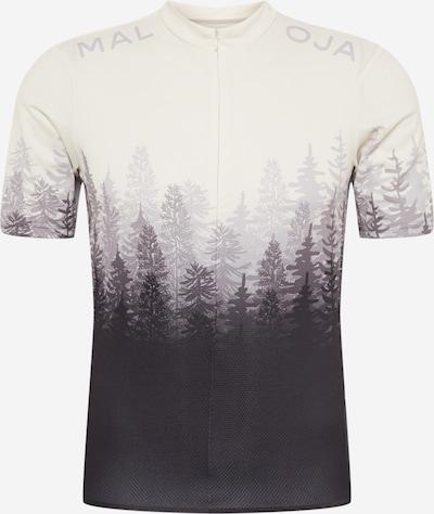 Maloja Camiseta funcional 'Drachenkopf' en gris / antracita / gris claro, Vista del producto