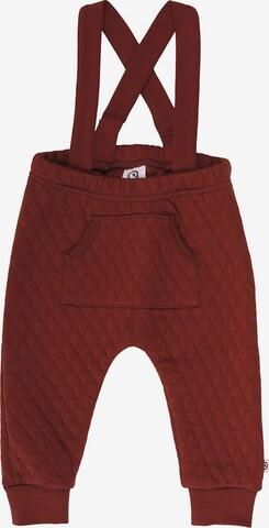 Müsli by GREEN COTTON Püksid, värv pruun