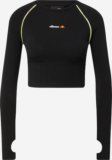 Tricou 'Honorata' ELLESSE pe verde neon / portocaliu / roșu / negru / alb, Vizualizare produs