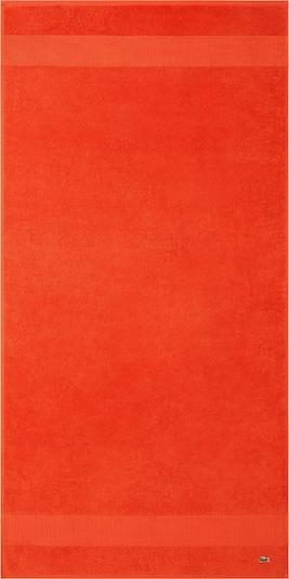 LACOSTE Duschtuch 'LE CROCO' in orange, Produktansicht