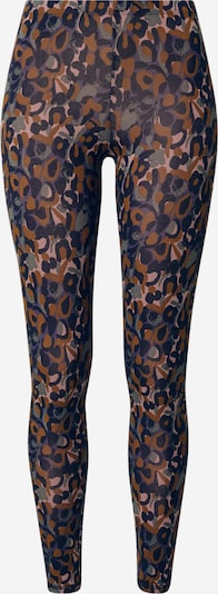 Thought Leggings 'MADELYN' in karamell / pastellgrün / violettblau / rosa / schwarz, Produktansicht