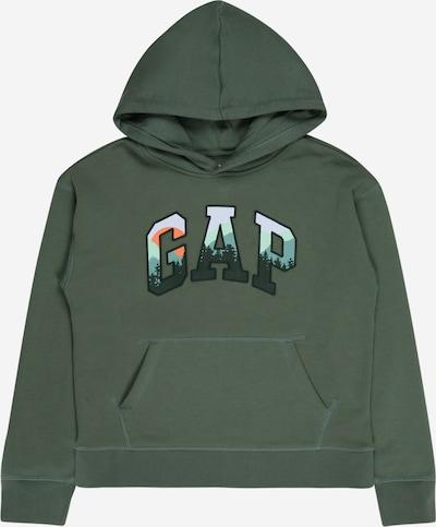 GAP Sweatshirt 'FRANCHISE' in dunkelgrün / mischfarben, Produktansicht