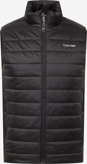 Calvin Klein Weste in hellgrau / schwarz, Produktansicht
