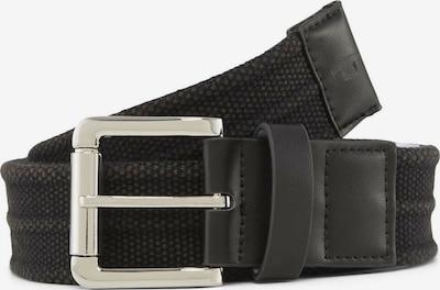 TOM TAILOR Cinturón 'BEN' en negro, Vista del producto