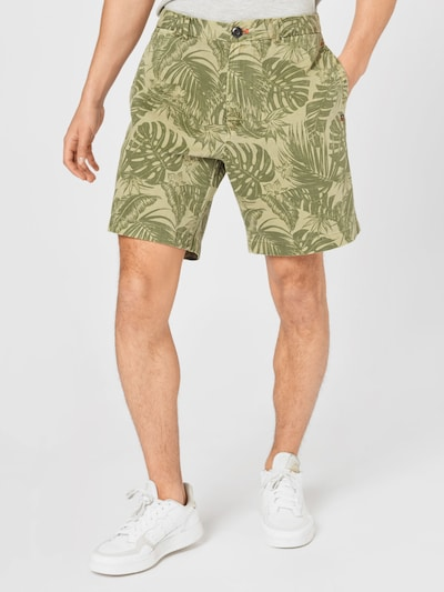 REPLAY Shorts in oliv / hellgrün, Modelansicht