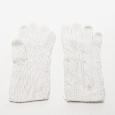 Polo Ralph Lauren Gloves in XS in White, Item view