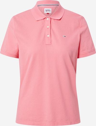 Tommy Jeans Poloshirt in dunkelblau / hellpink / rot / weiß, Produktansicht