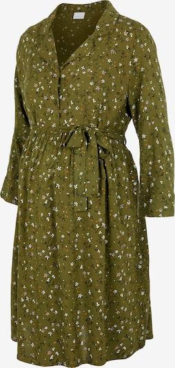 MAMALICIOUS Sukienka koszulowa w kolorze zielony / ciemnozielony / pomarańczowy / białym, Podgląd produktu