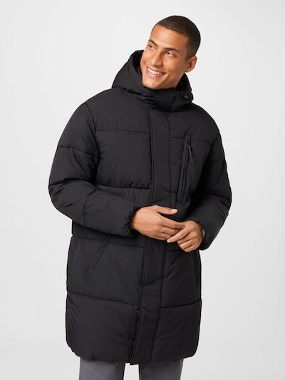 TOM TAILOR DENIM Winter Coat in Black, View model
