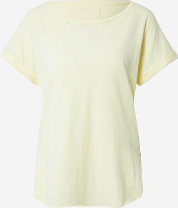 geltona True Religion Marškinėliai