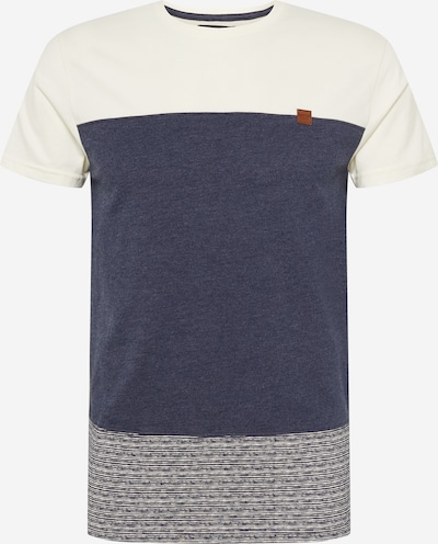 INDICODE JEANS T-Shirt 'Hammond' in navy / weiß, Produktansicht