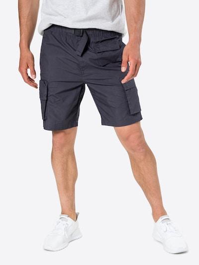 Pantaloni cu buzunare Superdry pe gri grafit, Vizualizare model