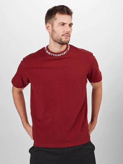 Marškinėliai iš MASKULIN , spalva - rūdžių raudona: Vaizdas iš priekio