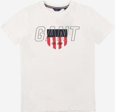 GANT T-Shirt in navy / rot / weiß, Produktansicht