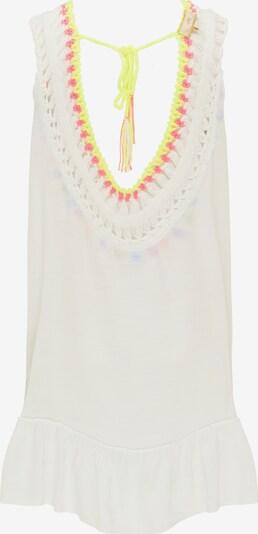 MYMO Tunika - modrá / neónovo žltá / tmavofialová / ružová / biela, Produkt