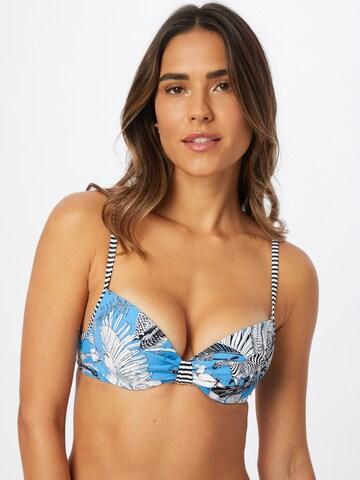 ESPRIT Bikiinitopp 'TULUM BEACH', värv sinine