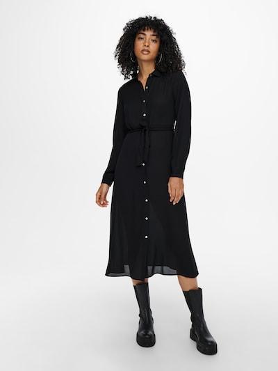 ONLY Blousejurk 'New Alma' in de kleur Zwart, Modelweergave